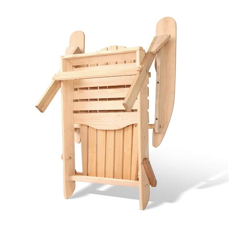 adirondack table and chairs adirondack style table chair set furniture outdoor ebay