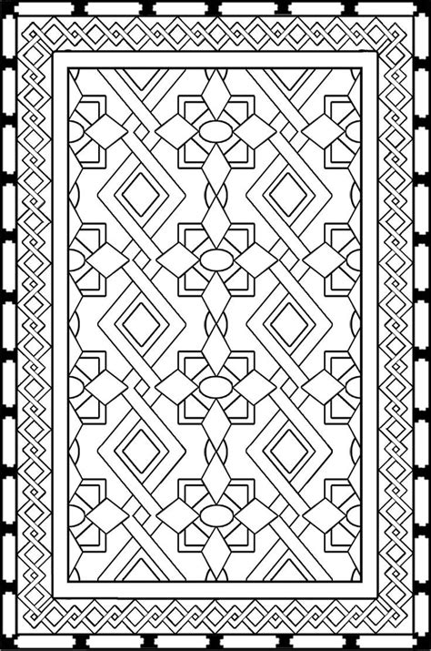 Persian Design Coloring Page - Coloring Home