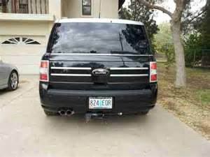 sell used 2010 ford flex custom two tone with thule and