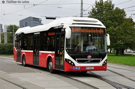 wiener linien   lo volvo  hybrid volvo blh  vienna austria busglobe