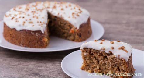 gesunder kuchen backen saftiger gesunder karottenkuchen backen macht gl 252 cklich