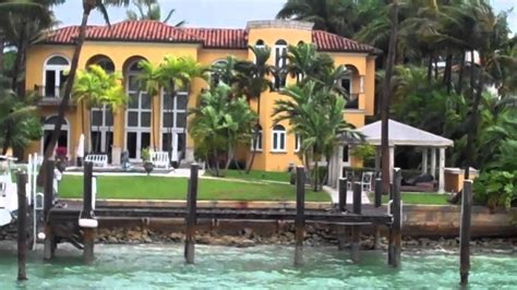 vanilla ice house miami celebrity home boat tour vanilla ice will smith s fabulous houses youtube