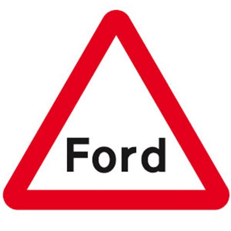 road warning signs and meanings driving test tips