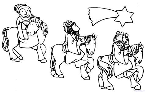 dibujos de navidad para colorear e imprimir reyes magos reyes magos para colorear