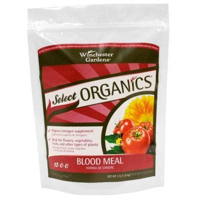 3 lb select organic blood meal granular fertilizer