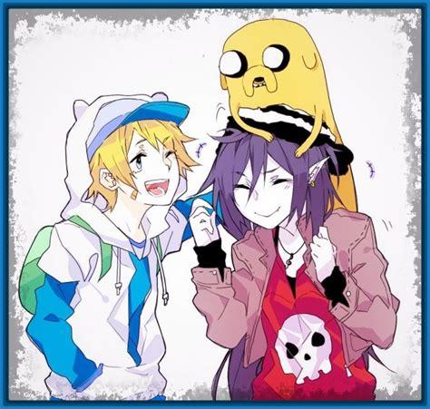 imagenes anime celular hora de aventura para descargar fotos de anime imagenes