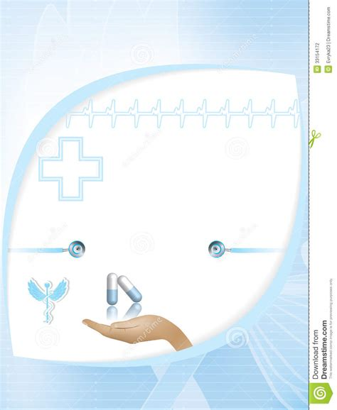 abstract medical design template stock photography image