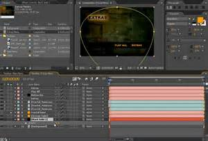 how to create dvd menu in after effect