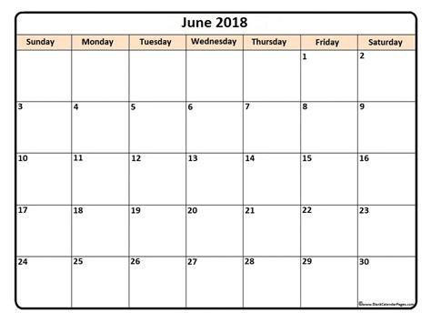 printable calendar 2018 to color june 2018 calendar june 2018 calendar printable
