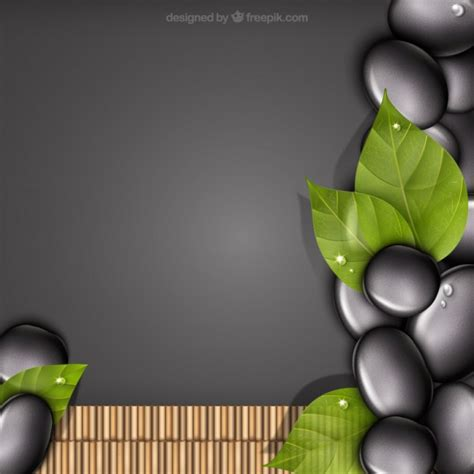 images free spa stones background vector free