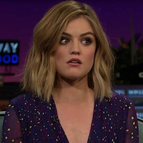 Lucy Hale Obsessed or Unimpressed Glamour Magazine Video