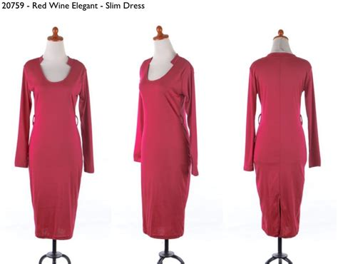 Baju T Shirt Kaos Imlek Merah 30759 selutut wine slim dress 125 000