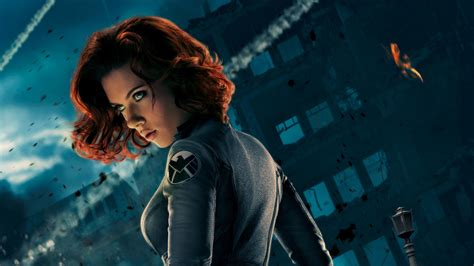 black widow movie scarlett johansson teases black widow s role in captain
