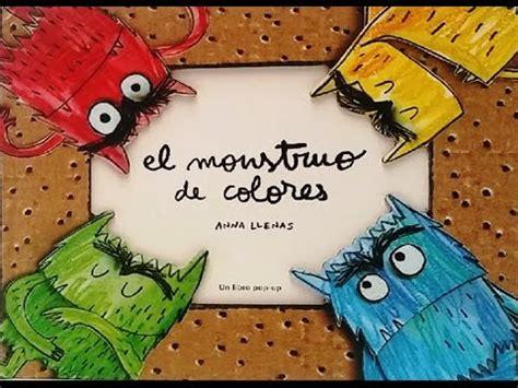 libro stinky el monstruo del el monstruo de colores cuento infantil youtube