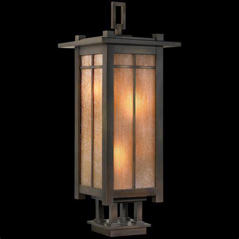Fine Art Ls 401883 Capistrano Outdoor Pier Mount Lantern Pier Light Fixtures