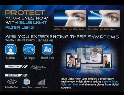 crizal blue light filter blue light filter lenses eyecon optical
