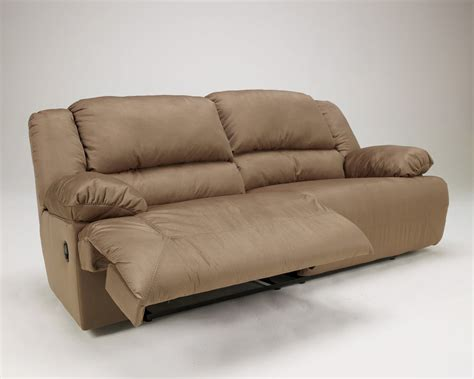 ashley reclining sofas buy hogan mocha 2 seat reclining sofa by signature design