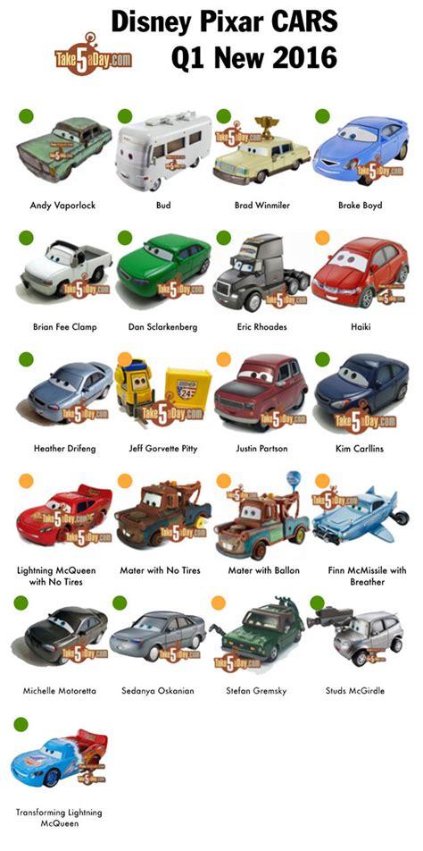 Sticker Label Nama Blank Sticker Kosongan Sticker Karakter Big mattel disney pixar cars q1 2016 diecast releases visual