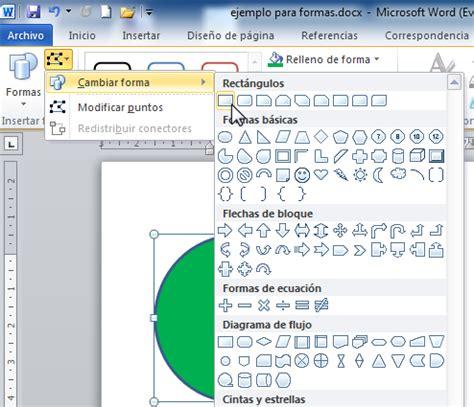 como insertar imagenes a un pdf microsoft word 2010 cambiar la forma por una diferente