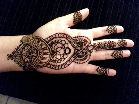 how to apply henna tattoos arabic simple henna mehndi design how to apply