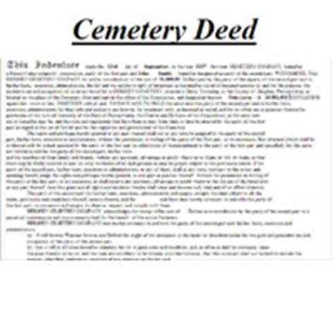 Cemetery Deeds Forms Pictures To Pin On Pinterest Pinsdaddy Cemetery Deed Template