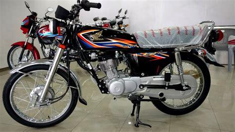 honda cg 125 2018 black in black on pk bikes