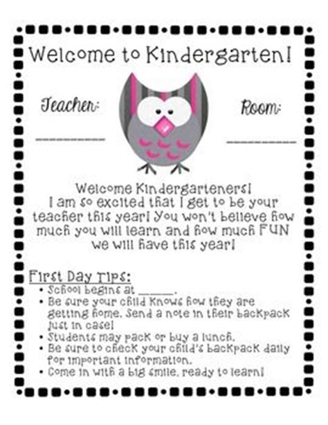 Parent Welcome Letter From Preschool Best 20 Preschool Welcome Letter Ideas On