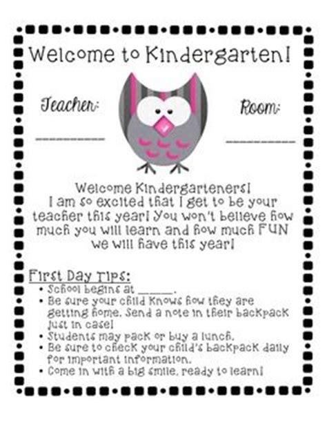 best 20 preschool welcome letter ideas on pinterest