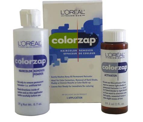 Loreal Hair Color Remover loreal technique color zap permanent haircolor remover