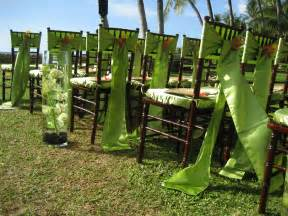 outside wedding decorations outdoor wedding ideas designer chair covers to go