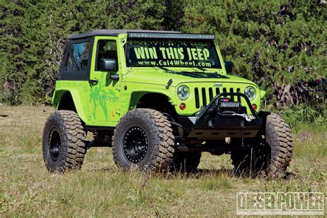 jeep wrangler army power bits january 2014 diesel power magazine