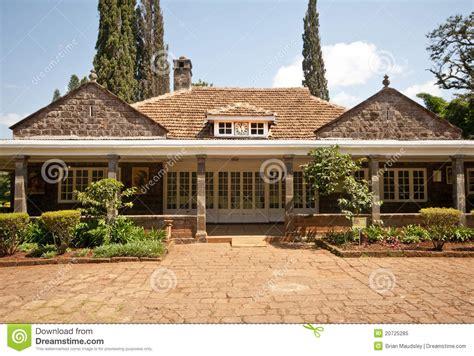 Four Bedroom House Plans karen blixen s house kenya stock image image 20725285