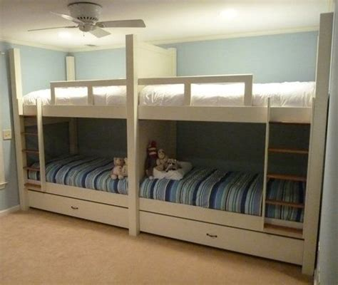 quad bunk beds quad bunks crafty crafter pinterest