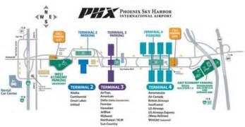 Phoenix Sky Harbor Map by Sky Harbor Arrival And Departure Procedures Arizona