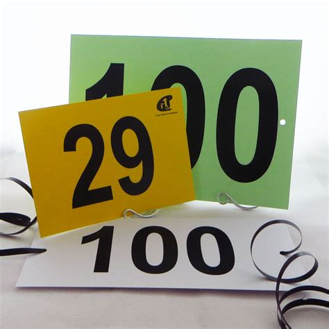 Where Is The Gift Card Number - competition number cards with holes ties