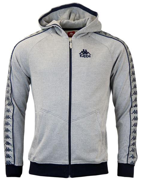 Jaket Zipper Hoodie Anak Kappa Jersey kappa auth warsus retro 80s track jacket in grey