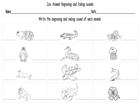 Zoo Phonics Worksheets by Free Coloring Pages Of Initial S Sound