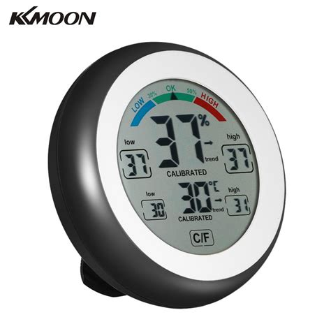 Thermometer Electronic kkmoon hygrometer termometro digital thermometer electronic thermometer humidity meter wall