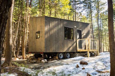 tiny house getaway getaway tiny house woods 171 inhabitat green design