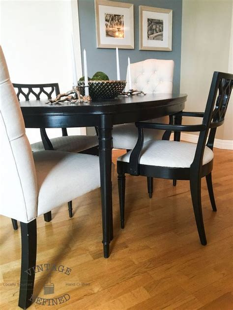 Update Dining Room Chairs by Dining Room Update Painting Dining Table Chairs Hometalk