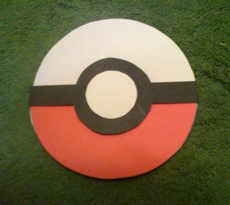 How To Make Paper Pokeball - the gallery for gt how to make a pokeball with paper