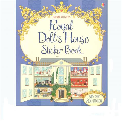 Sticker Book buy royal doll s house sticker book heritage
