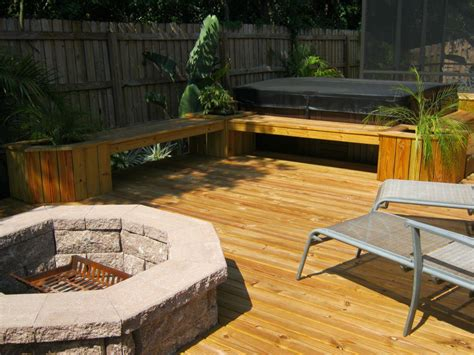 Deck With Fire Pit Ideas Fire Pit Design Ideas Deck Firepit