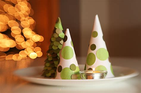 christmas tree tissue paper cone tree craft 24 diys on how to make a paper tree guide patterns