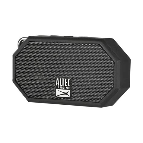Speaker Altec Lansing Bluetooth altec lansing mini h20 bluetooth speaker imw257 blk hd