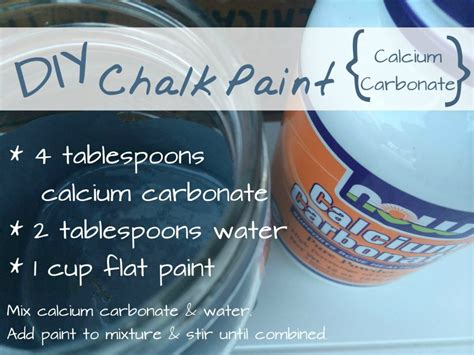 chalk paint recipe calcium carbonate the best diy chalk paint recipe refresh living