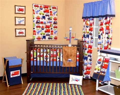 bacati bedding bacati transportation crib bedding collection baby bedding and accessories