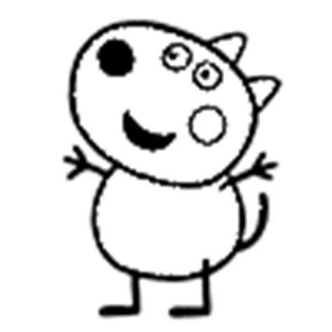 peppa pig coloring pages danny dog danny dog coloring page