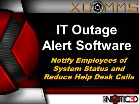11 Best Outage Notification Communication Tools Images On Pinterest Software Appliance And Tools Outage Communication Template