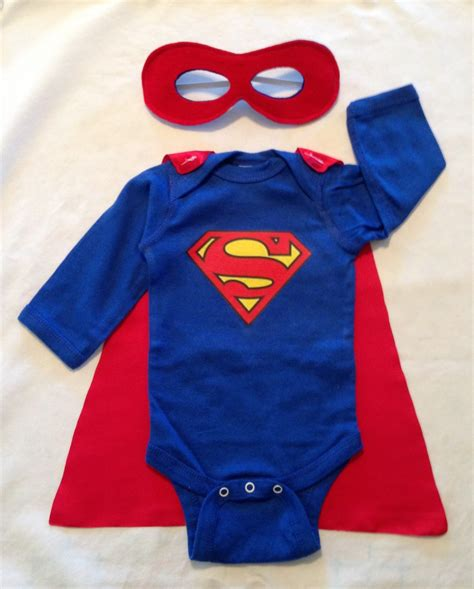 superman or superwoman baby with